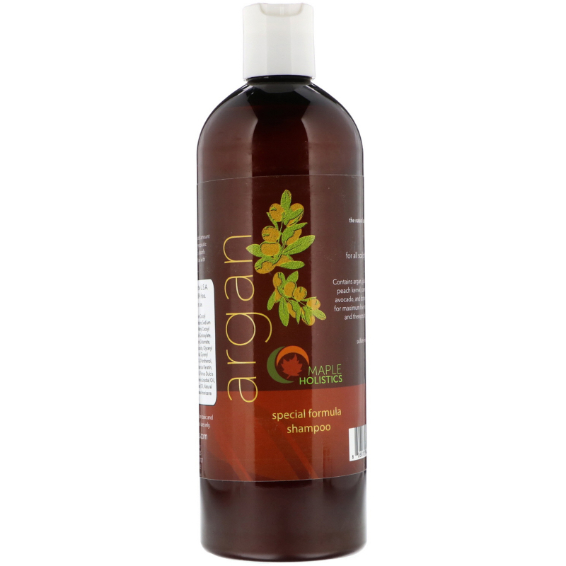 Maple Holistics, Argan, Special Formula Shampoo, 16 oz (473 ml)