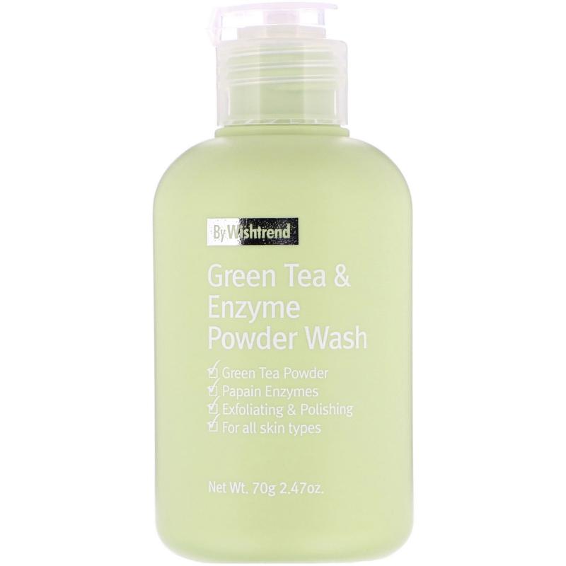 Wishtrend, Green Tea & Enzyme Powder Wash, 2.47 oz (70 g)