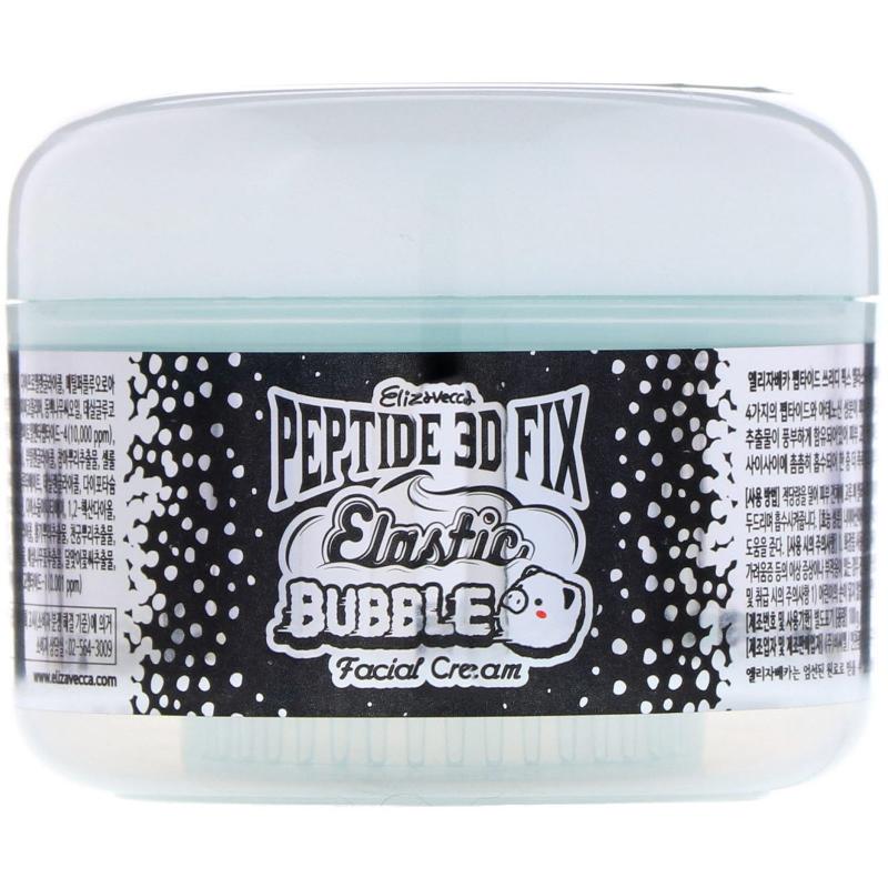 Elizavecca, Peptide 3D Fix Elastic Bubble Facial Cream, 3.53 oz (100 g)