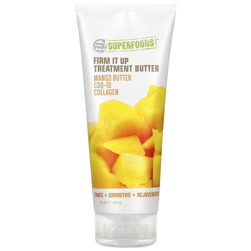 Petal Fresh, Pure, SuperFoods For Body, Firming Treatment Butter, Mango Butter, CoQ10 & Collagen, 7 fl oz (200 ml)