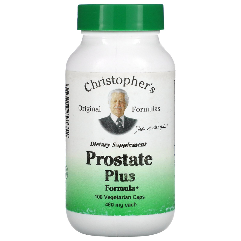 Christopher's Original Formulas, Prostate Plus Formula, 460 mg, 100 Veggie Caps