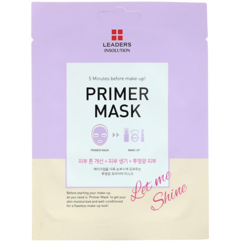 Leaders, Primer Mask, Let Me Shine, 1 Mask, 0.84 fl oz (25 ml)
