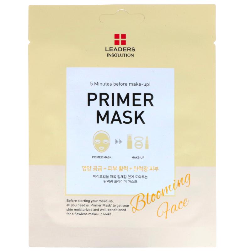 Leaders, Primer Mask, Blooming Face, 1 Mask, 0.84 fl oz (25 ml)