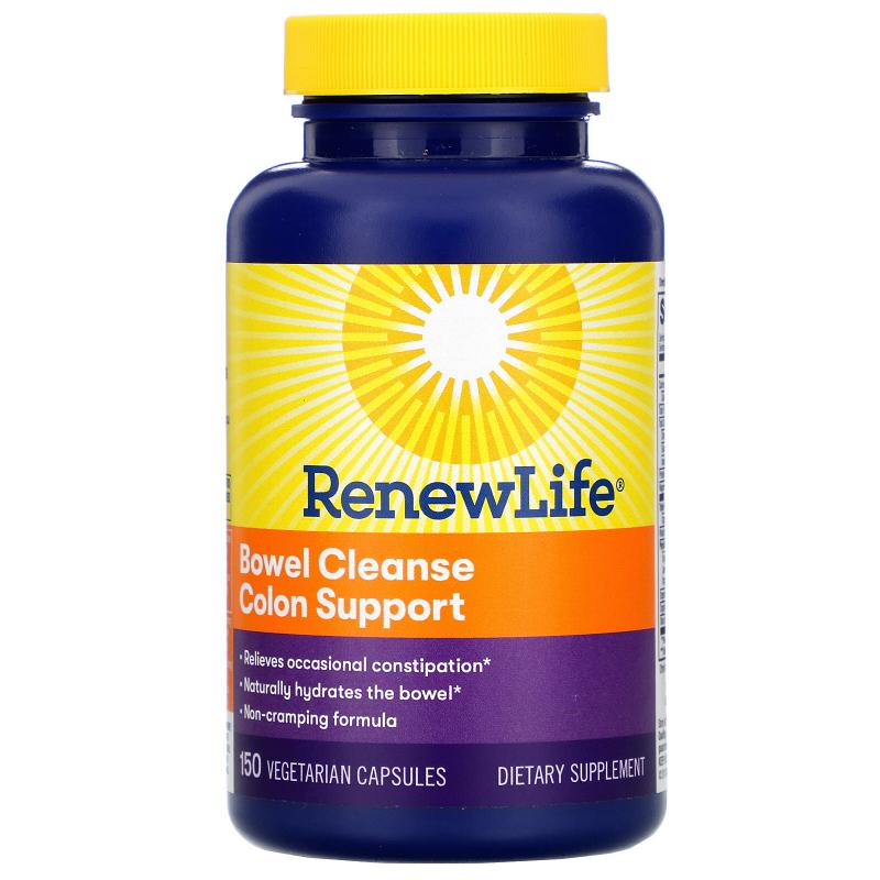 Renew Life, Bowel Cleanse, 150 Vegetable Capsules