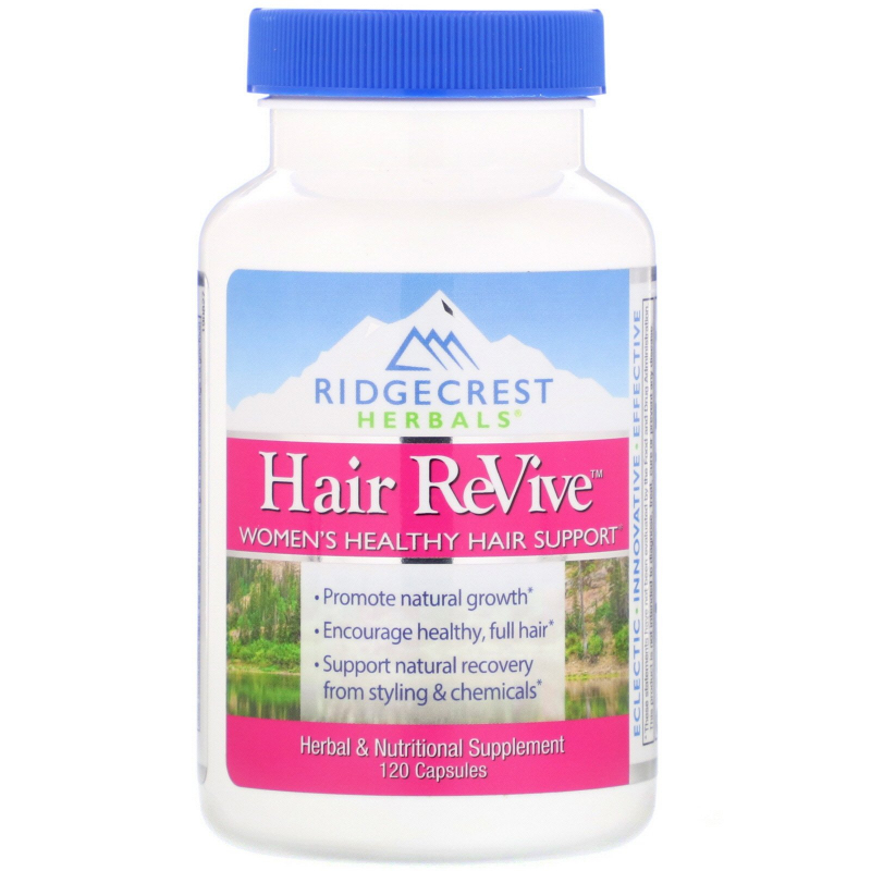 RidgeCrest Herbals, Hair ReVive, 120 Capsules