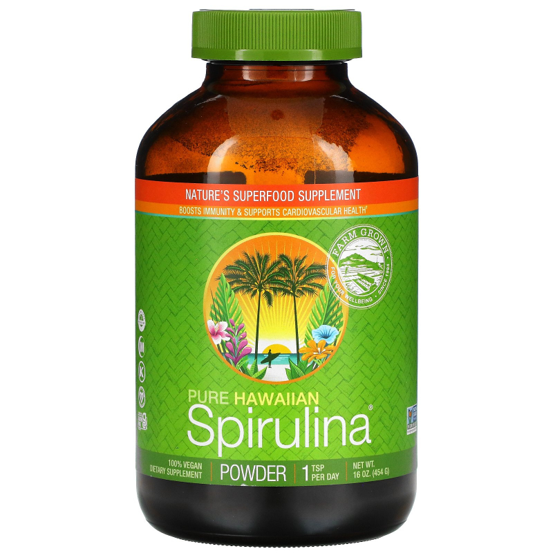 Nutrex Hawaii, Pure Spirulina Pacifica, Powder, 16 oz (454 g)