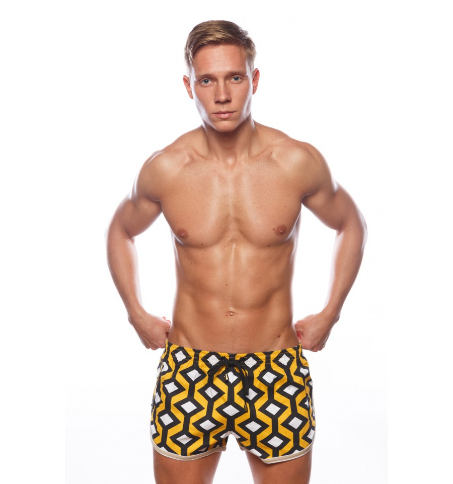 Marcuse Shorts California Sunset Orange