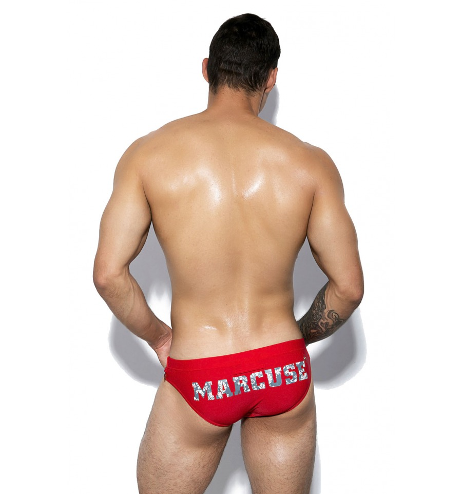Marcuse Swimwear Tropical Red
