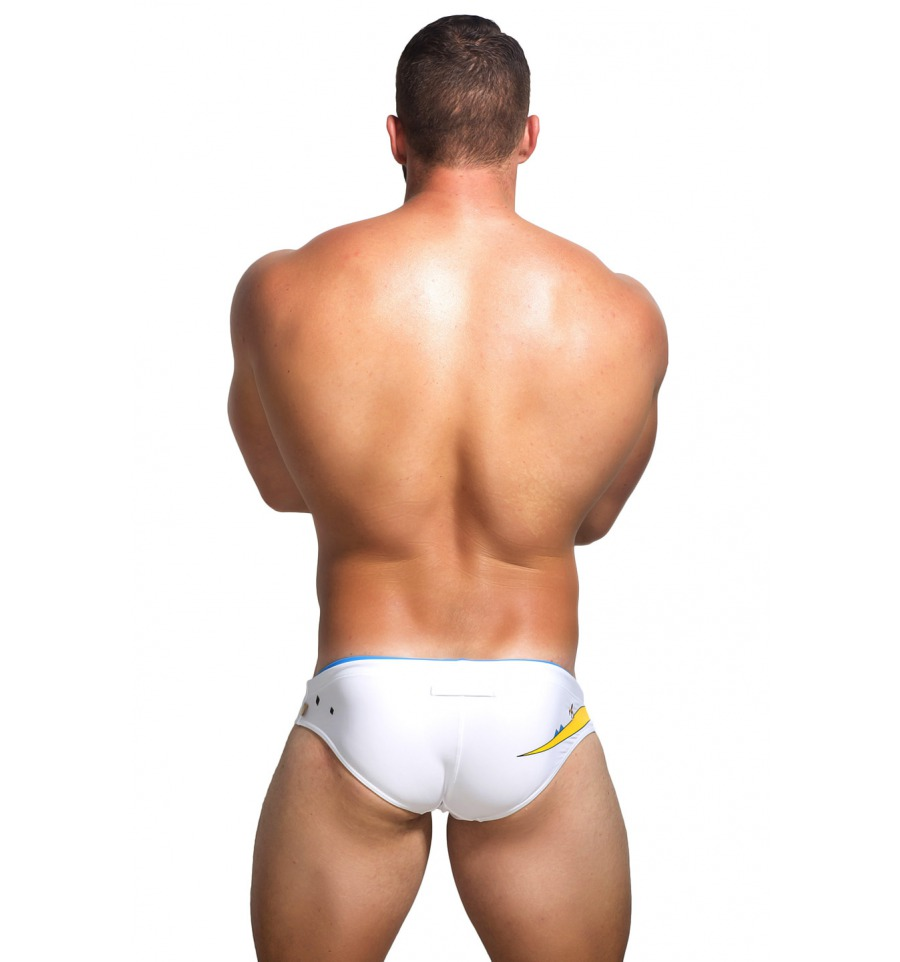 Marcuse Swimwear Monster White