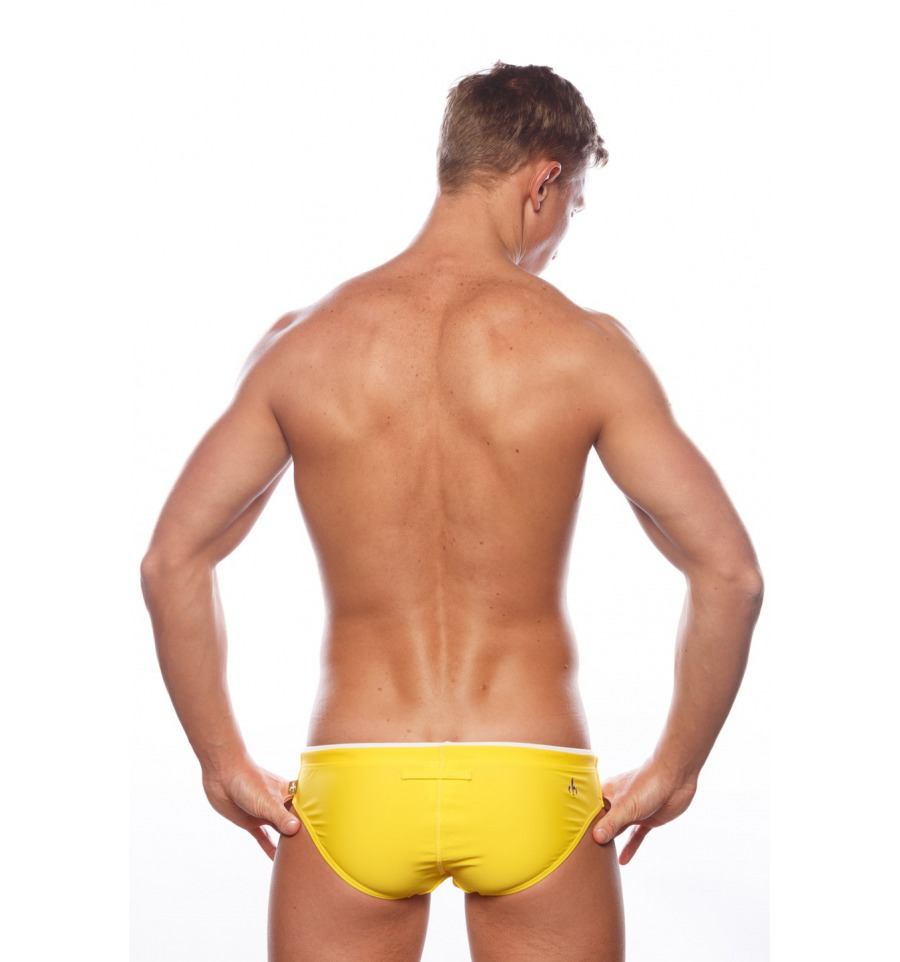 Marcuse Swimwear Bear With Me Yellow