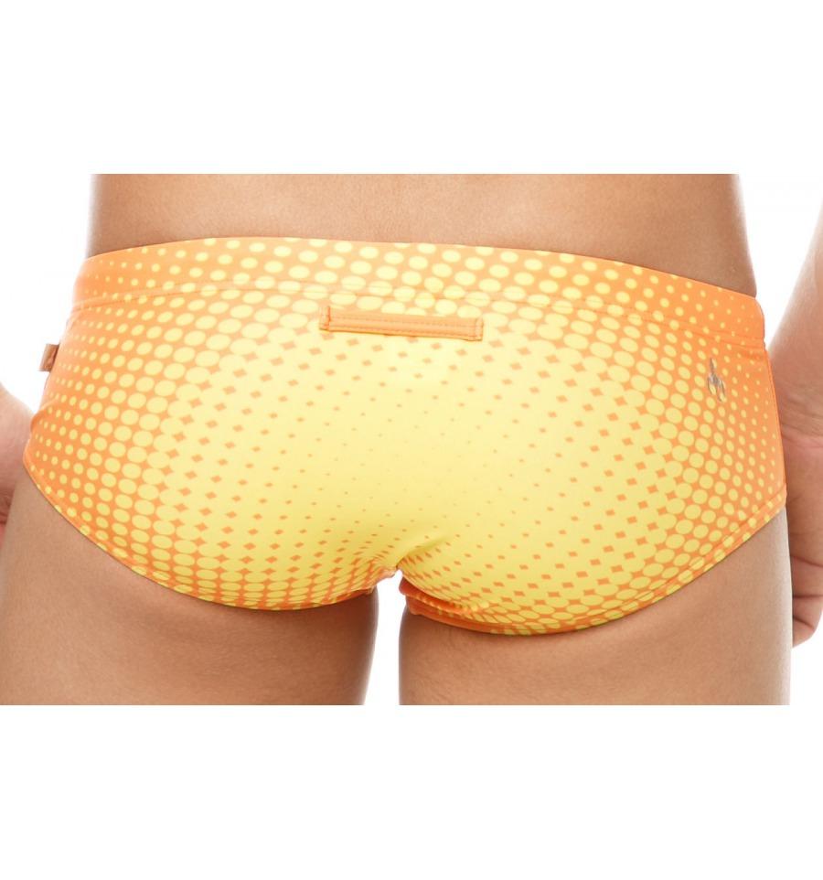 Marcuse Swimwear Anime Trunk Orange
