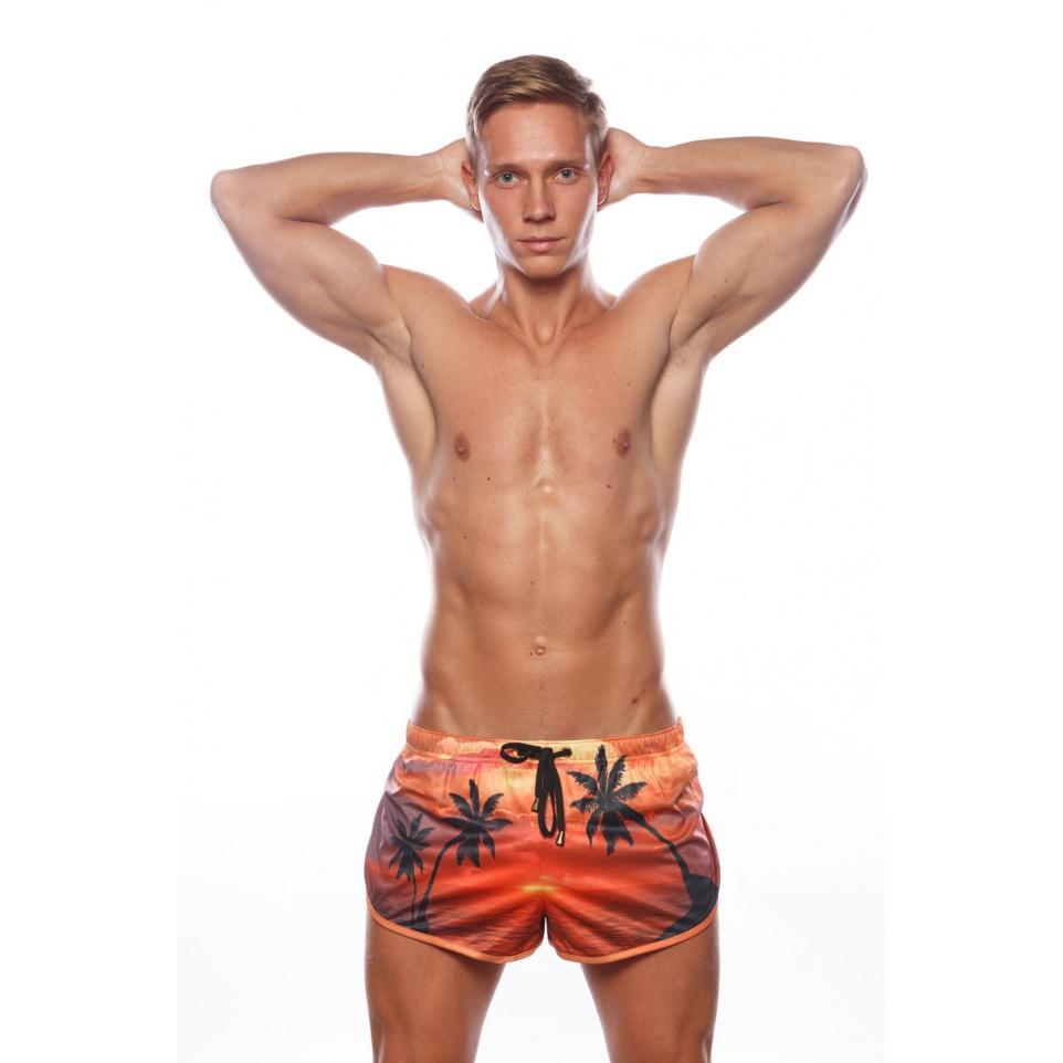 Marcuse Shorts California Sunset Orange