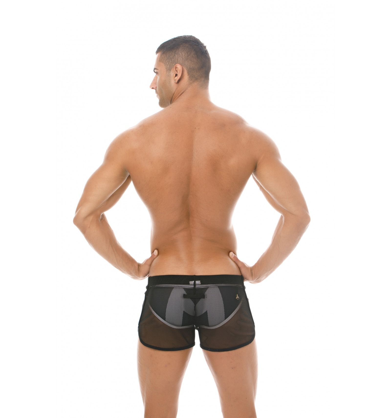 Marcuse Shorts Panorama Black